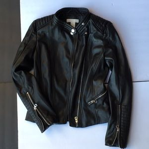 H&M faux leather jacket 2